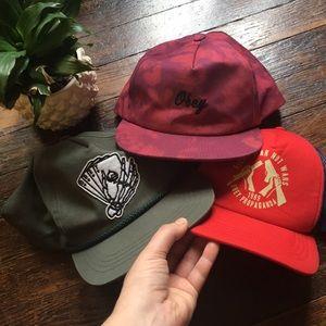 Obey Hat Bundle!